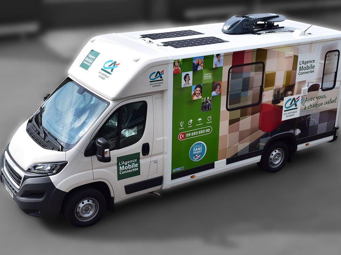 Agence mobile - 5059031 - Bureau mobile