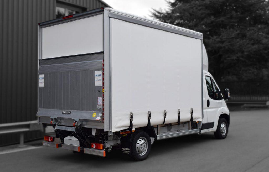 Transport utilitaire - 7462768 - Grand volume sur châssis