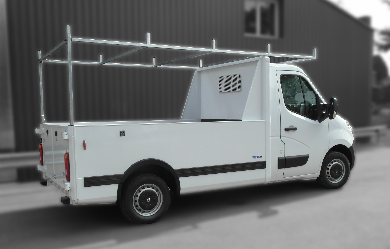 Transport utilitaire - 7427768 - Pick-up sur plancher cabine
