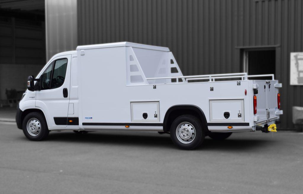 Transport utilitaire - 7664403 - Pick-up sur plancher cabine