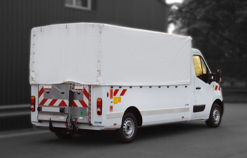 Transport utilitaire - 7462768 - Pick-up sur plancher cabine