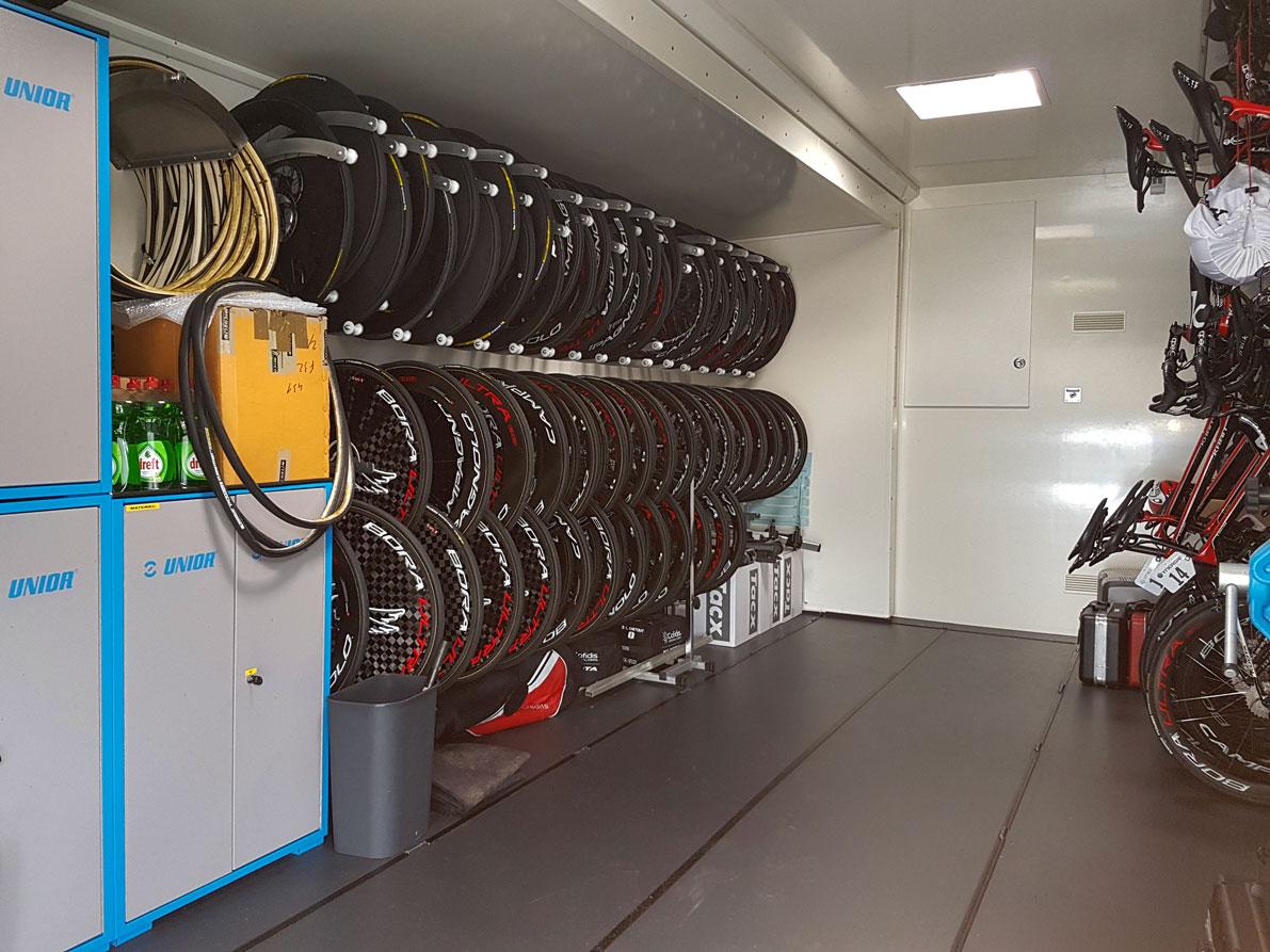 Semi-remorque Atelier Cyclisme - 8267470 - Compétition