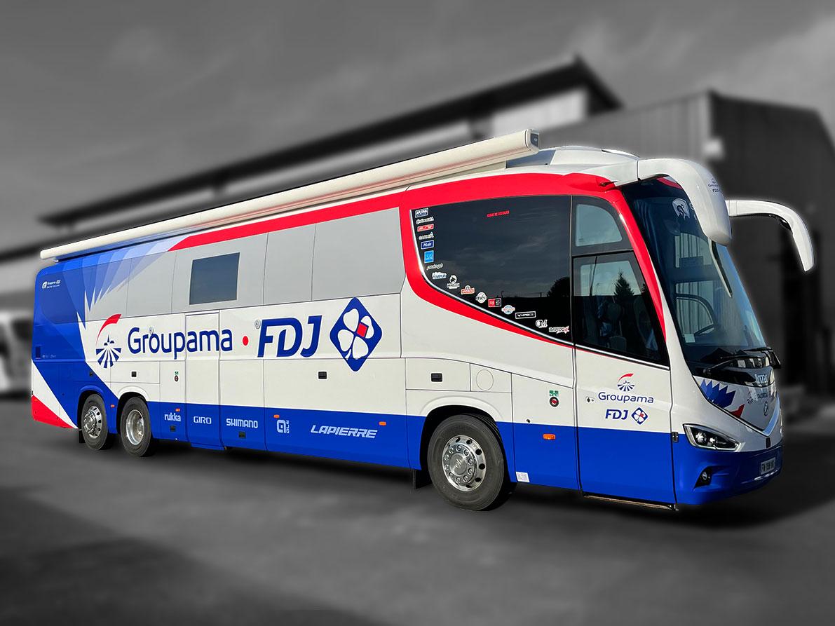 Bus MotorHome Cyclisme - 8269138 - Compétition