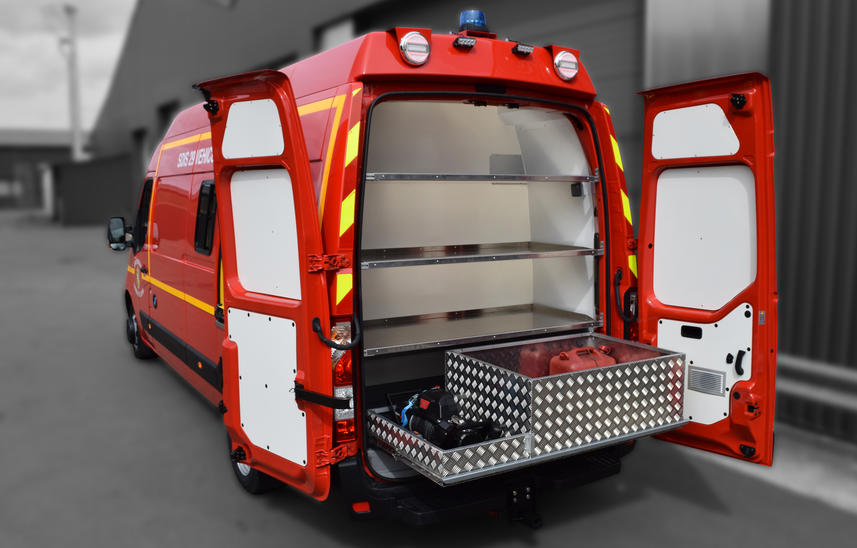 Véhicule plongeurs - 8663275 - Pompiers