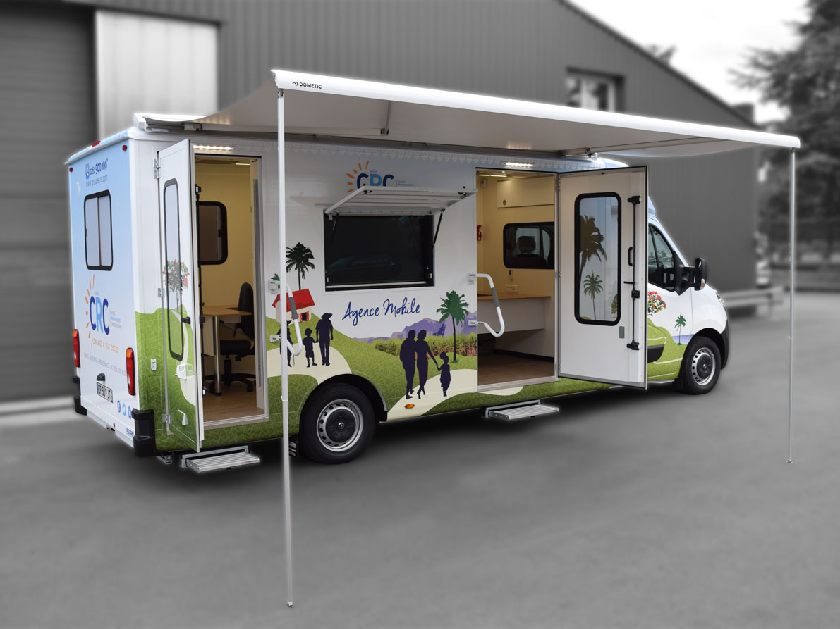Bureau mobile 2 bureaux - 5361612 - Bureau mobile