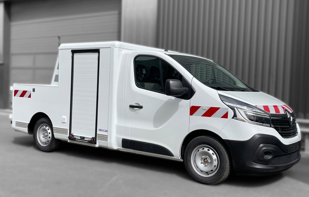 Véhicule Utilitaire Léger à vendre - 7369423 - Pickup Renault Master