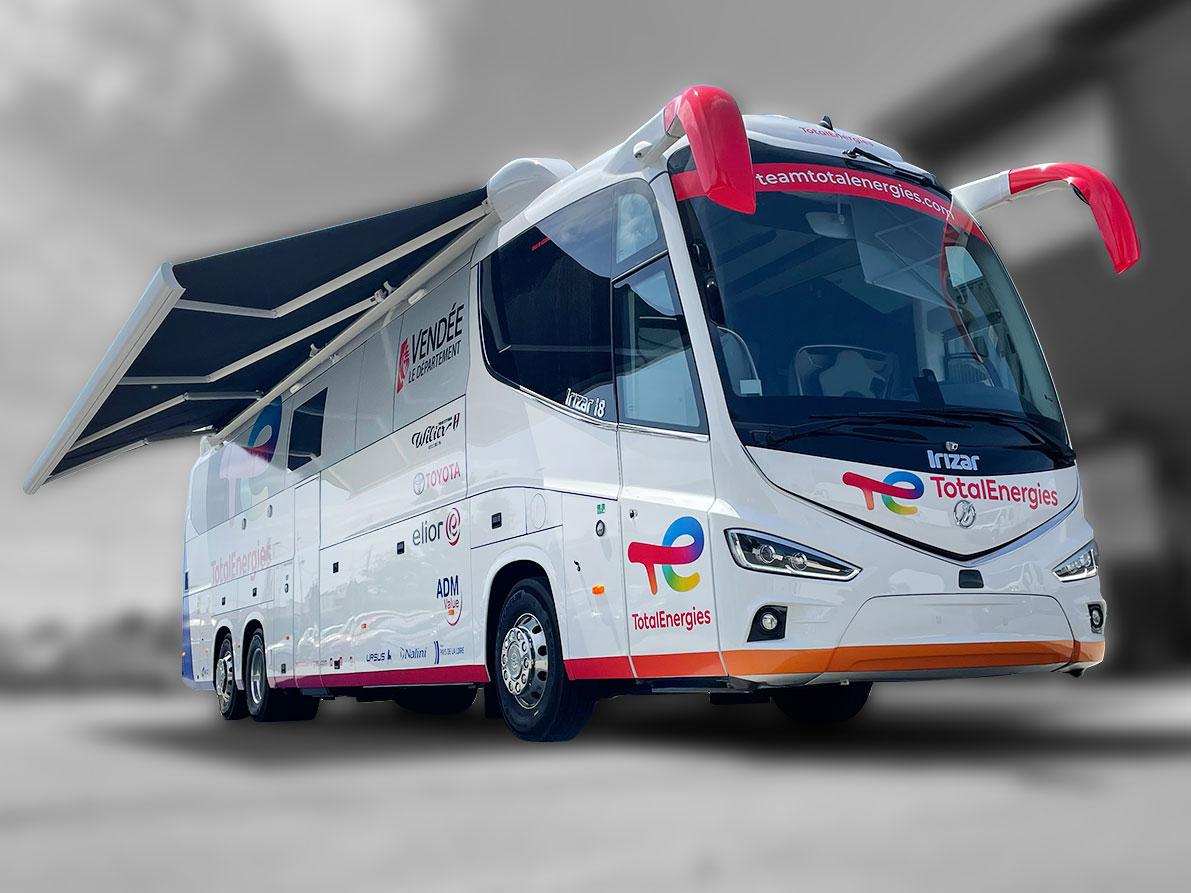 Bus MotorHome Cyclisme - 8210786 - Compétition