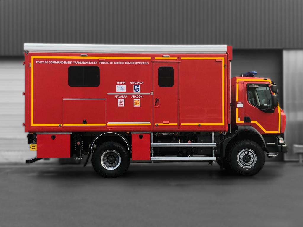 Poste de commandement - 8665407 - Pompiers